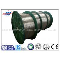 Best Hot - Dipped High Carbon Steel Wire 3.0mm For Elevator / Mechanical Equipment wholesale
