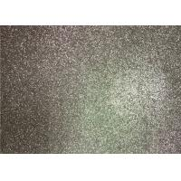 Best Bedroom Wallpaper PU Material Silver Glitter Fabric For Living Room Home Decor wholesale