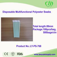 Ly-PS-768 Disposable Medical Dental Microfiber Swabs for sale