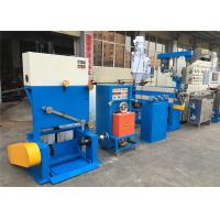Best Industrial PVC Cable Extruder Machine With Double Axis Pay Off Straightening Device wholesale