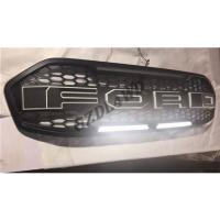 Best Matte Black F150 Type Grille For Ford Everest 2015 2016 Front Grille With LED wholesale