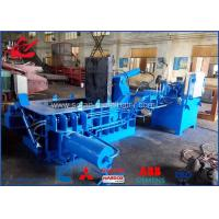 Best Waste Beverage Cans Hydraulic Scrap Metal Baler With Hand Valve Control wholesale