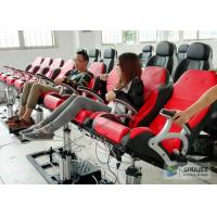 Best 5D Luxury Movie Theater Seat Electric Hydraulic And Pneumatic Mobile Seats wholesale