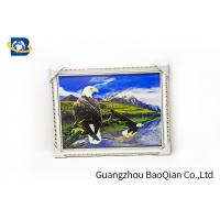 Cheap 3D Gift PET 3D Lenticular Pictures Flips Photo Of Eagle Animal Support Printing Service for sale