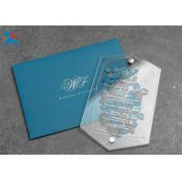 Cheap High Transparency Acrylic Gifts Cards Invitation Box Polycarbonate Sheet Plastic for sale