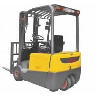 Best Three Wheel Electric Forklift Truck 1 ton capacity Small Turning Radius wholesale