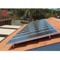 Best MW Level On Grid Solar System Ground Installation With Polycrystalline Solar Panel wholesale