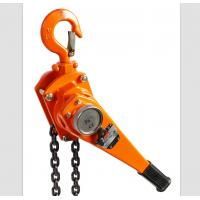 Quality Anti Rust Construction Chain Lever Hoist 1.5 Ton With Drop Forged Hooks wholesale