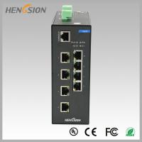 Buy cheap RJ45 8 port industrial gigabit ethernet switch , Fast switching speed switch from wholesalers