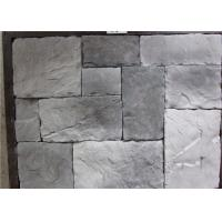 Quality Durable Faux Stone Wall Tiles , Faux Stone Veneer Exterior / Interior Wall Decoration wholesale