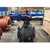 Buy cheap High pressure DBB DIB structure Flanged End 3PC body Trunnion Ball Valve With from wholesalers