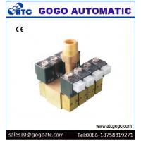 China Normally Closed Digital Water Curtain Solenoid Valve Manifolds 5.0 - 10 mm Orifice on sale