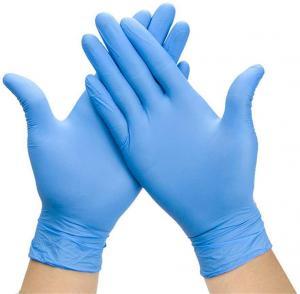 Best Examination Disposable Medical Gloves , Nitrile Disposable Gloves For Hospital wholesale