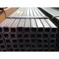 Best High Frequency Welding Hollow Steel Pipe , Steel Rectangular Tubing For Building Material wholesale