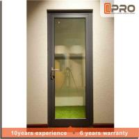 Best Multi Color Aluminium Hinged Doors With Powder Coated Surface Treatment wholesale