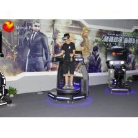 Quality Real Virtual Device 9D 360 Degree Rotation Shooting Gun Game Machine 9D Cinema wholesale