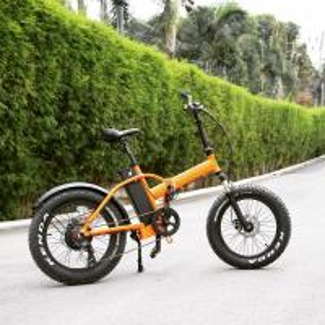 Best 20 Inch Electric Fat Chopper Beach Cruiser Bicycle Bike Aluminum Alloy Frame wholesale
