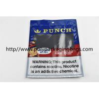 Best Plastic Self Sealing Humidity Fresh Cigar Packaging Bag Resealable Ziplock Open And Close wholesale