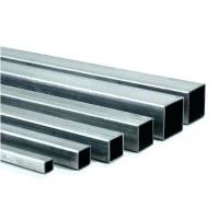 Best Stable Performance Square Steel Tubing Smooth Surface 40 G - 300 G Zinc Layer wholesale