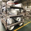Silver 8011 0.1mm Household Aluminum Foil Roll for sale