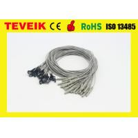 Best IN1.5 socket EEG cable with silver chloride plated copper for Medical Accessories wholesale