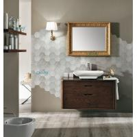 Best Wall Mounted Transitional Bathroom Vanities Simple Design For Small Space Bathroom wholesale