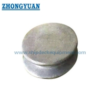 ASTM A27-70-36 Casting Steel 6 8 10 Marine Button Chock Ship Mooring Equipment for sale