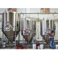 Buy cheap Mirror Polish Stainless Steel Conical Fermenter Mini Beer Or Wine Making from wholesalers