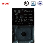 China (WL78) T78 Miniature Automotive Relay Auto Parts for Automobile Black Cover 20A 14VDC Relays Rele for sale