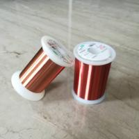 Best 0.028mm Polyester Enameled Ultra Fine Copper Wire For Transformers / Relays wholesale