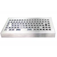 Buy cheap Stand Alone Metal Industrial Desktop Keyboard With Customizable Language Layout from wholesalers