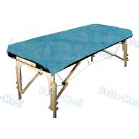 Buy cheap Ultrasonic Seam Disposable Bed Sheets Blue Color With Good Skin Affinity,water from wholesalers