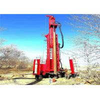 Buy cheap 300m Mining Quarry Water Borehole Drilling Machine Portable 30kw Power from wholesalers