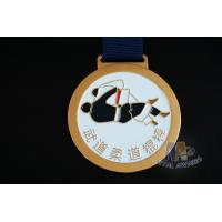 Cheap Round Metal Soft Enamel Swimming Custom Sports Taekwondo Medals Marathon Events Medallion for sale