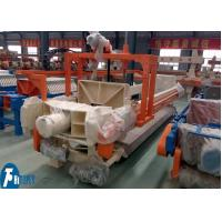 Best 100m2 Industrial Filter Press Fully Automatic Controlled With Filter Cloths Washing Device wholesale