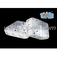 Quality 4 Inch Square Electrical Boxes And Covers With Knockouts Square wholesale