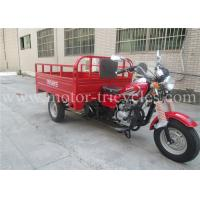 163FML Engine Eec Commercial Tricycles 3 Wheel Motorbikes 320kg Dry Weight