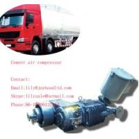 Quality 8cbm factory directly supply 3 axles cement silo compressor for bulk cement truck wholesale