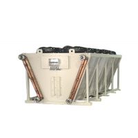 Modular Series Wet/Dry Hybrid Adiabatic Cooling System Dry Cooler for sale