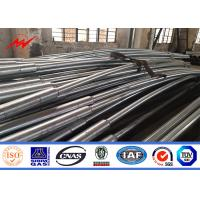 Buy cheap 8.43m Light Road Pole Hot Dip Galvanized Steel Poles For Highway Using from wholesalers