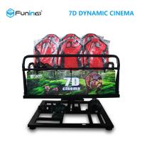 Best Professional 7D 9D Movie Theater Simulator For 8 / 9 / 12  Players wholesale