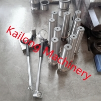Silvery Flask Assembly Pin Foundry Parts For KW Automatic Moulding Line for sale