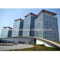Best Safe Galvanized Prefabricated Steel Structures For Infrastructure Building wholesale