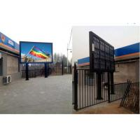 Quality Commercial P10 Outdoor Full Color LED Display With Iron / Aluminum Cabinet wholesale