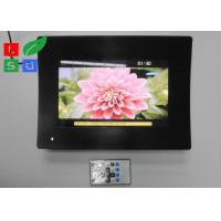 Best Temperature Glass Face LCD Digital Signage , Resolution 1024x600 LCD Advertising Player wholesale