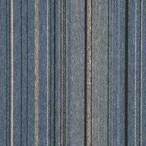 Best PP  Stripe  Commercial Office Carpet Tiles 50cm X 50cm Tile Size wholesale