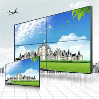 Best High Definition Wall Mount 4 Screen LCD Video Wall Super Wide Visual Angle wholesale