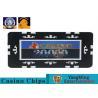 Best 760Pcs Professional Custom Design Die Stamp Iron Material Shiny Gold Plating Epoxy Poker Chip Set Manufacturer wholesale