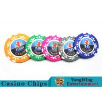 Best High Precision Casino Poker Chip Set / Poker Table Set For Gambling Games wholesale