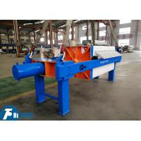 Best Sludge Dewatering Chamber Filter Press PLC Control 297L Filtration Chamber Volume wholesale